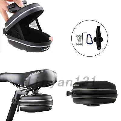 Outdoor Bicycle Seat Pouch Saddle Bag Storage Bike Rear Tail Case Waterproof