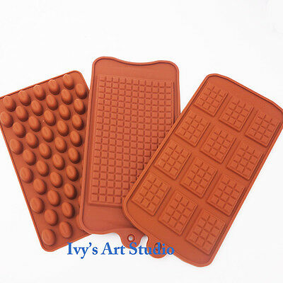 Choclate Mold Set Bar Silicone Ice Tray Candy Chocolate Cake Jelly Mould Mold