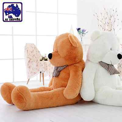 1.6m 1.8m 2m Large Huggable Plush Toy Teddy Bear Doll White Brown Pink GBEA313