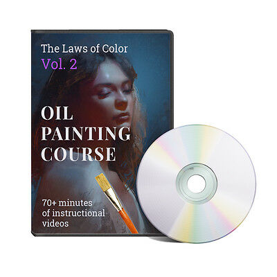 Oil Painting Techniques and Tips. Laws of Color Vol.2 by Chris Legaspi (DVD)