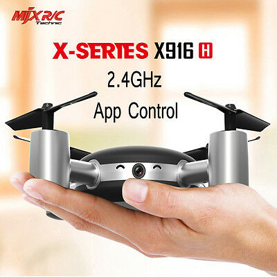 MJX X916H Drone Wifi 0.3MP Caméra RC Quadcopter 2.4GHz Mode sans Tête APP