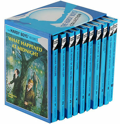 The Hardy Boys Collection: 10 Hardcover Books Gift Box Set Franklin W Dixon New