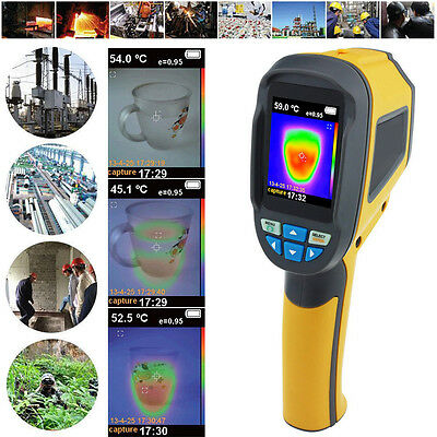 Handheld Thermal Imaging Camera IR Infrared Thermometer Imager -20℃ to 300℃