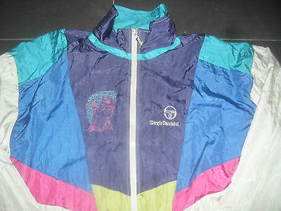 Sergio Tacchini giacca tennis Tracksuite Vintage Jacket PAT CASH Wimbledon 1987