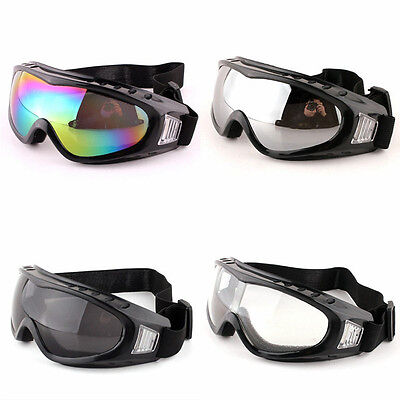 Tactical Airsoft Paintball Goggles Anti Fog Dust Glasses CS Eye Protection UV400