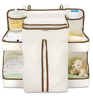 Nappy Change Organiser Munchkin Baby Nappy Bag Portable Holds 50 Nappies & Wipes