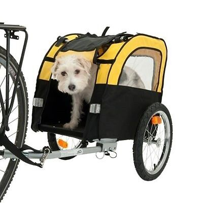 Dog Pet Bike Trailer Bicycle Carrier For Small Dogs Up To 25 Kg 105 x 58 x 73 cm