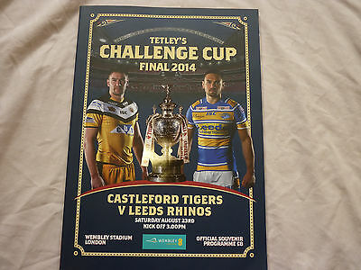 2014 Challenge Cup Final Program. Rhinos v Tigers