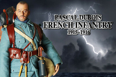 1/6 Action Figure - DID  French Infantry 1915-1916 Pascal Dubois