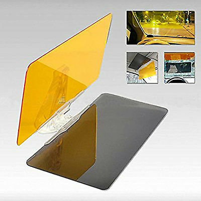 Smart Car HD Dual Visor Day & Night Vision Anti Glare Dazzle Blocker Universal