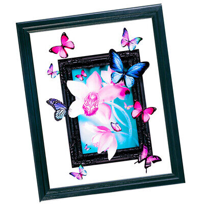 DIY 5D Diamond Painting Butterfly Embroidery Cross Crafts Stitch Home Decors