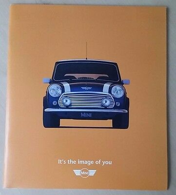 Rover Mini 'The Image Of You' Sales Brochure 1999