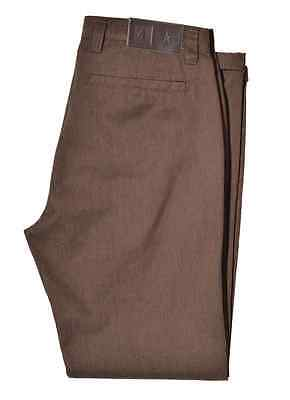 Fourstar Collective Men's Brown Heather SS Pant trousers CLEARANCE!