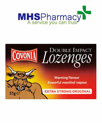 Covonia Double Impact Cough Lozenges - Extra Strong (51g)