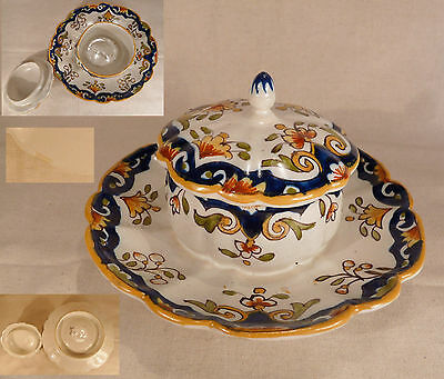 Beurrier En Faience - Rouen ??- Nevers ??- Signe 1103 Ff-Epoque ??