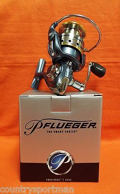 PFLUEGER President Spinning Reel Gear Ratio 5.2:1 #1236652 (6930X)