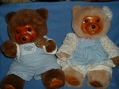 2 Robert Raikes Bears Best Friends 1991 Brian & Stacie LIMITED Numbered