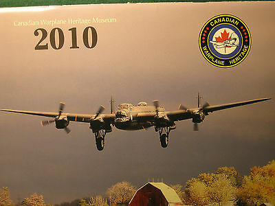 Canadian Warplane Heritage 2010 Calendar Lancaster Canso Lysander Firefly