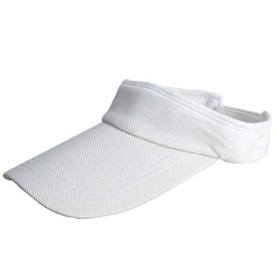 Women Men Outdoor Beach Sports Sun Visor Hat Tennis Caps Adjustable White