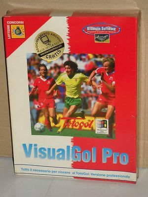 VisualGol Pro vincere al TotoGol programma per Windows | Bisanzio Software 1995