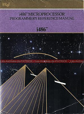 INTEL i486 Microprocessor Programmer's Reference Manual 1990 ( Book 486 )