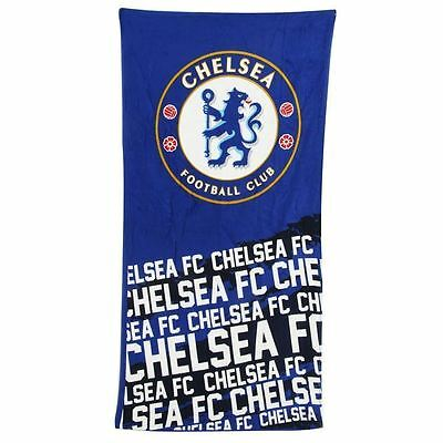 Chelsea FC Official Licensed Velour Beach Team Towel IP