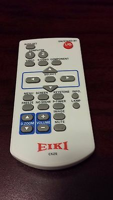 Eiki CXZS remote projector (Lot # 231)