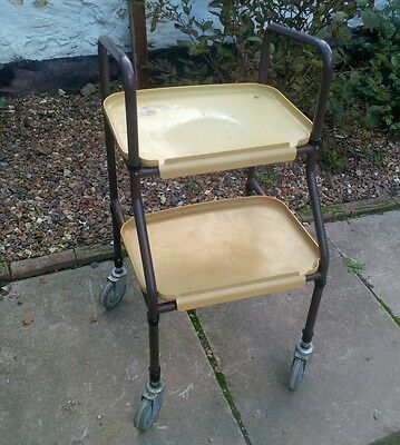 Two Tier Disability Aid trolley/good working order but Fair condition, used item