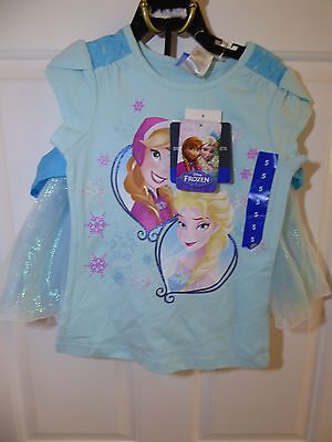 Original Disney Frozen Character Girls Aqua Mist Skirt Set - Age 5 - New