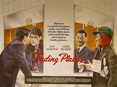 Home Wall Art Print - Vintage Movie Film Poster - TRADING PLACES -A4, A3, A2, A1