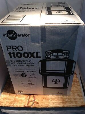 InSinkErator 1100XL Pro Series 1.1 HP Food Waste Disposal with Evolution Series