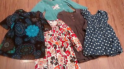 Girls LOT dresses fall winter size 5 Gap Old Navy LeTop clothes