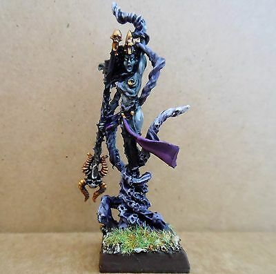 2007 Dark Elf Supreme Sorceress Citadel Pro Painted Army Drow Witch Priestess GW