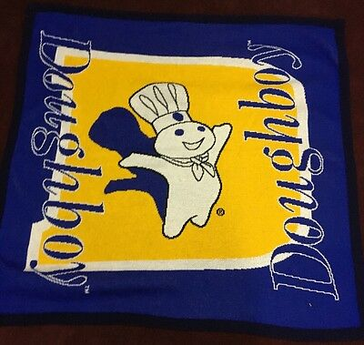 Pillsbury's Doughboy Afghan 60 1/4 Inches X 57 Inches