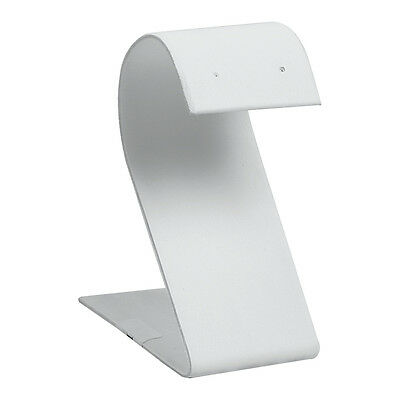 White Earring Display Stand Curved Top Earring Display White Earring Stand