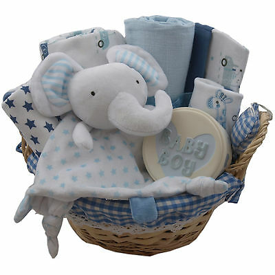 Baby gift basket/hamper boy clothes set/keepsake gift baby shower nappy cake