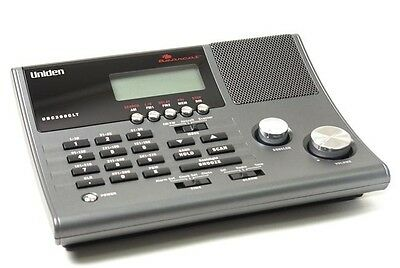 Uniden Bearcat UBC360CLT 300 Channel Scanner with AM/FM Radio and Alarm