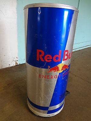"""vestfrost"" Commercial ""red Bull"" Refrigerated Bottle / Can Display Merchandiser"