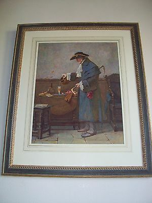 HENRY TERRY (fl.1879 - 1920)  COACHMAN POURING A GLASS OF SHERRY. WATERCOLOUR.