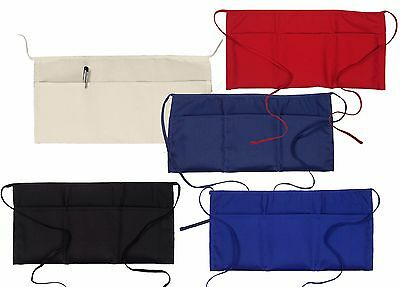 NEW Big Accessories Waist Apron 3 POCKET Waitress Waiter 5 colors apr50