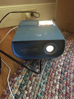 Vintage View-Master Entertainment Projector Electric By Gaf In Case Gently Used