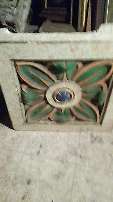Antique Architectural Terra Cotta Block Salvaged From STL City Building