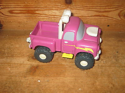 Tv Series Tractor Tom 2002 Pushalong Pinkish Truck 6 Ins Long Tow Bar