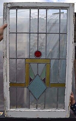 Leaded light stained glass window. B207c. WORLDWIDE DELIVERY!!!