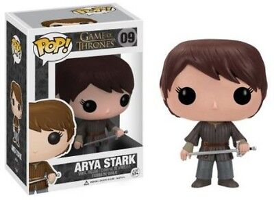 Game Of Thrones - Arya Stark - Funko Pop! Television (2013, Toy New)