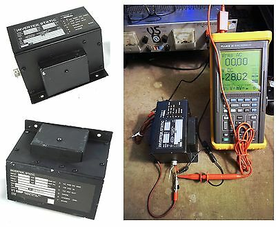 EMP Aircraft PS-285 Static Inverter 115 VAC 28 VDC Input 400 Hz 1 Ph. Tested!