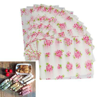 50 xmas wedding candy sweets wrapper tissue paper grease proof paper flower