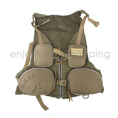 Multi pockets Quick dry Fly Fishing Vest Jacket Hunting Waistcoat Photograhy