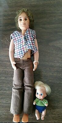 Mattel Sunshine Family 1973 Dad and Baby