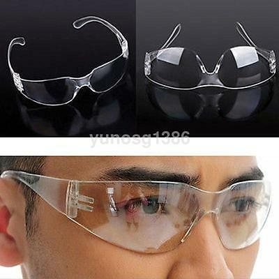Clear Protective Eye Goggles Vented Safety Glasses Chemistry Lab Anti-radiation